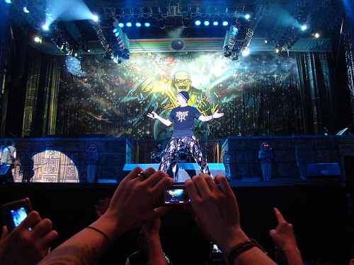 recomendaciones concierto IRON MAIDEN Colombia 2011
