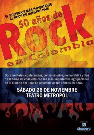 CONCIERTO 50 AÑOS DE ROCK EN COLOMBIA