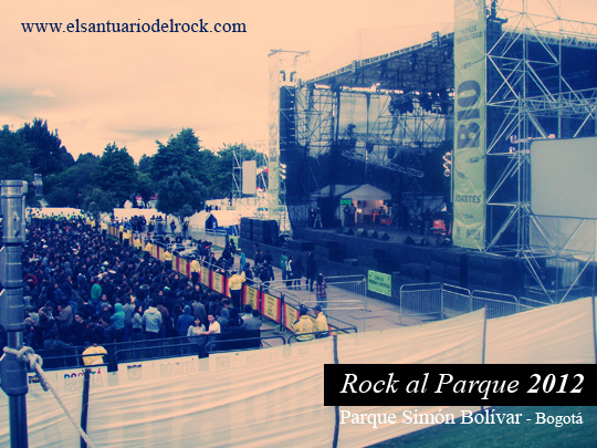 Rock al Parque 2013 listado de bandas inscritas