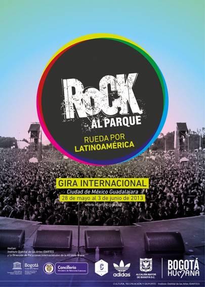 ROCK AL PARQUE 2013 RUEDA POR LATINOAMÉRICA