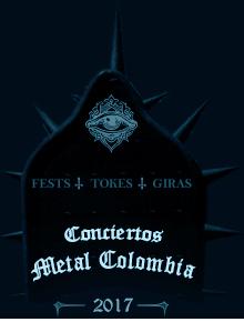 Próximos Conciertos de Rock, Metal en Colombia 2017