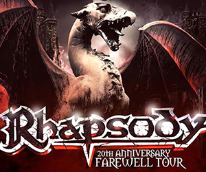 Rhapsody Reunion Latin American Tour 2017 - Live Report by El Reverendo