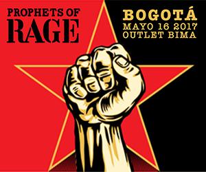 Prophets of Rage en Colombia 2017