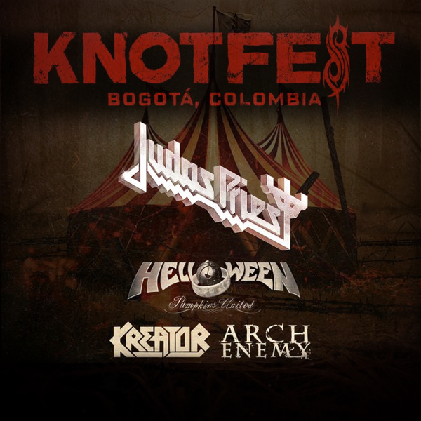 Knotfest Colombia 2018.