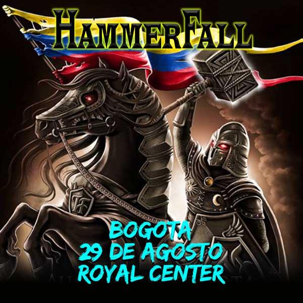 Hammerfall Colombia 2019.