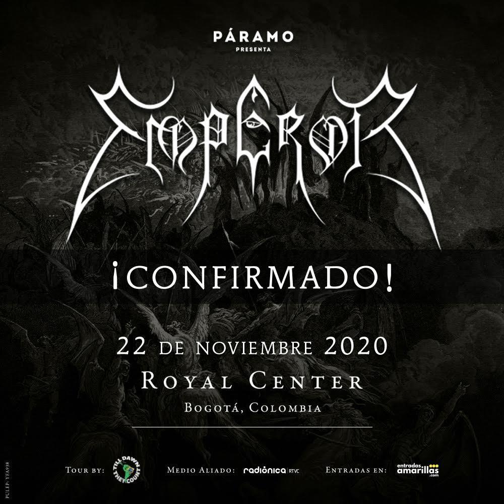 Emperor en Colombia 2020.